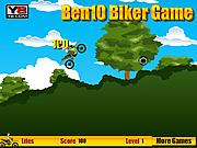 Игра Бен 10 на байке