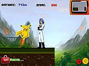 Игра Пикачу убегает от ракет