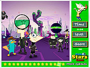 Игра Phineas and Ferb Hidden Stars