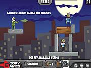 Игра Воздушные шары против зомби