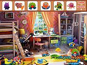 Игра Найти предметы  - Красочная спальня