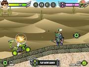 Игра Бен 10 против зомби