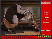 Игра Найти буквы - Кунг-фу Панда