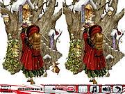 Игра Найди отличия - Рождество