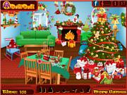Игра Найти предметы - Санта