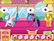 Игра Забота о милых пони