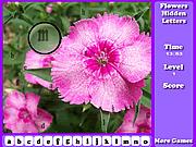 Игра Цветы скрытые буквы