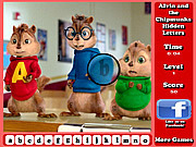 Игра Элвин и бурундуки: найдите скрытые буквы на картинках
