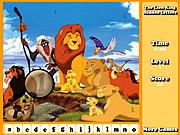 Игра Король Лев - скрытые буквы