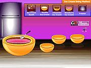 Игра Как сделать мороженое Кассата