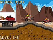 Игра Грязные гонки на велосипедах