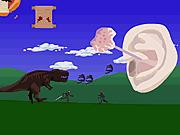 Игра Желаем приятного дня (Атака Динозавра)