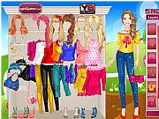 Игра Весенний образ Барби