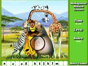 Игра Мадагаскар - скрытые буквы