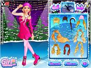 Игра Танцы на льду с Барби
