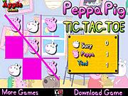 Игра Свинка Пеппа - крестики-нолики