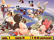 Игра Микки Маус и буквопад