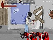 Игра Бак Борис против нинзя!