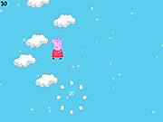 Игра Свинка Пеппа. Прыжки