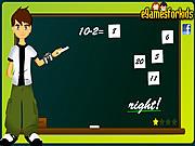 Игра Бен. Математическая игра
