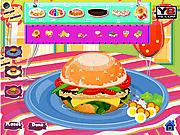 Игра Вкусные гамбургеры