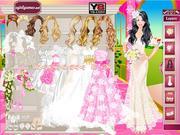 Игра Одевалки Барби на свадьбу