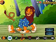 Игра Симба - Король-лев одевалки