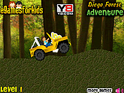 Игра Лесные приключения Диего