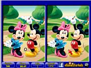 Игра Микки Маус - 6 отличий