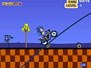 Игра Супер-Соник: экстремальный велоспорт