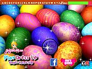 Игра Пасхальные Яйца: Скрытые Буквы