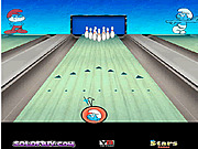 Игра Смурфики: боулинг