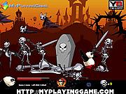 Игра Кунг-фу Панда против Короля Скелетов