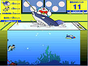 Игра Лов рыбы Doraemon