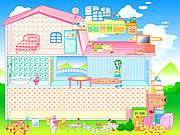Игра Домик для девочки Барби