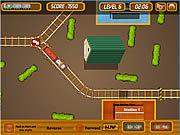 Игра Припаркуй Поезд