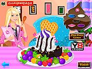 Игра Мороженое для Барби