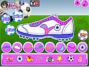Игра Собственный дизайн футбольных кроссовок