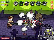 Игра Зомбипрепятствия