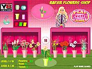 Игра Барби и цветочный магазин