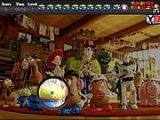 Игра История игрушек 3 - найти предметы