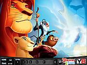 Игра Король-лев. Поиск номеров