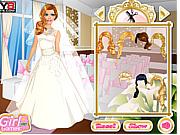 Игра Свадебный наряд для Барби