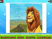 Игра Король-лев. Пазл