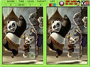 Игра Кунг-фу Панда - найти отличия