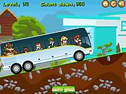 Игра Марио на автобусе
