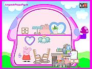 Игра Оформление домика Свинки Пеппы