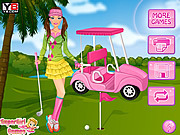Игра Барби и гольф