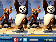 Игра Панда и друзья. Найти отличия