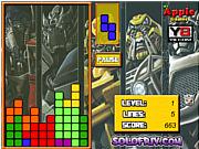 Игра Transformers Tetris